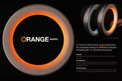 Osram Light Bulbs: ORANGE AWARD Design & Branding by Brand Union