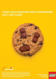 Legoland: Cookie Print Ad by Team collaboration