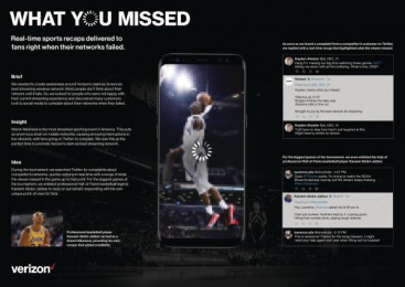 Verizon: Verizon Digital Advert by R/GA New York