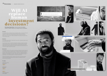 Investec: The Human Search Bar, 3 Print Ad by Ogilvy Johannesburg