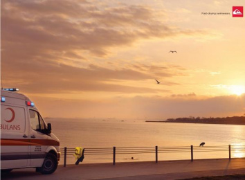 Quiksilver: AMBULANCE Print Ad by Brand Experience Designers