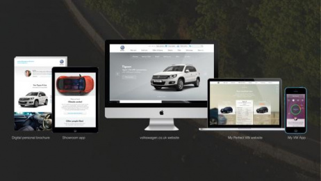 Volkswagen: Volkswagen Connected Customer Journey [image] Digital Advert by Tribal London