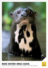 Renault Eco2: OTTER Print Ad by Publicis Frankfurt