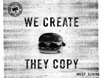 Rock House Sliders (RHS): Copies Print Ad by Team collaboration