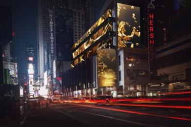 Morgan Stanley: Morgan Stanley Digital Signage Times Square Outdoor Advert by Bloomberg Businessweek