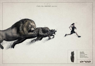 Orca: EARTH Print Ad by Tiempo BBDO