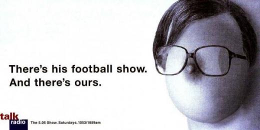 Talk Radio: MELLOR Print Ad by Xxl