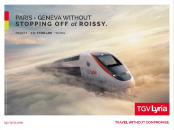Tgv: Morning Outdoor Advert by Change Paris