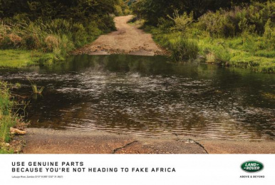 Land Rover: Genuine Parts - Crocodile Print Ad by Publicis Machine Johannesburg