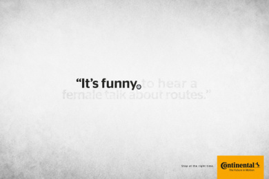 Continental: Stop at the right time: it's funny Print Ad by Rai Sao Paulo