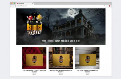 M&M's: Haunted M&M'S, 2 Digital Advert by Colenso BBDO Auckland, Flare