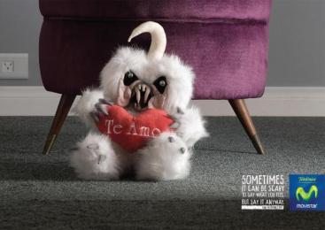 Movistar: TEDDY BEAR II Print Ad by Publicis Buenos Aires