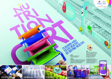Nestle: Nestle Nutrition Cart Print Ad by Geometry Global Dubai