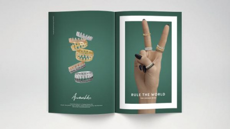 Annoushka: Rule the World, 8 Print Ad by Mr. President London