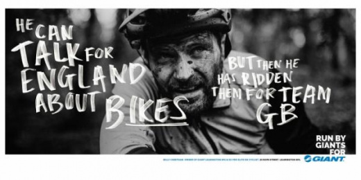 Giant Bicycles: Run By Giants For Giant, 10 Print Ad by Rees Bradley Hepburn (RBH)