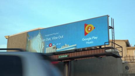 Google Play Music: Google Play Music Outdoor Advert by BBH New York, Grand Visual