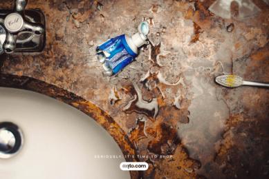 ALMACENES ÉXITO: Toothpaste Print Ad by Sancho BBDO Bogota