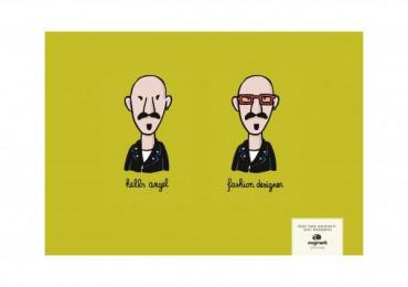 Oogmerk Opticians: HELL'S ANGEL/ FASHION DESIGNER Outdoor Advert by Lg&f