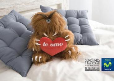Movistar: TEDDY BEAR I Print Ad by Publicis Buenos Aires