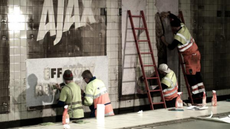 Ajax: AJAX, stronger than dirt! 1 Outdoor Advert by ANR BBDO Stockholm