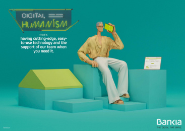 Bankia: Digital Humanism, 5 Print Ad by Attic Films, CLV Madrid