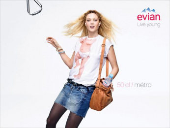 Evian Water: Live Young, 4 Print Ad by BETC Euro Rscg Paris