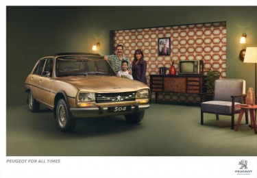 Peugeot: Peugeot for all times, 1 Print Ad by Kijamii Cairo
