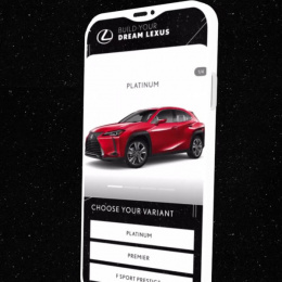 Lexus: Car Configurator Digital Advert by Memac Ogilvy & Mather Dubai