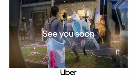 Uber: Party Print Ad by Special Group Australia