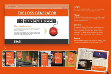 Sbab: THE LOSS GENERATOR Case study by Le Bureau Stockholm, UM