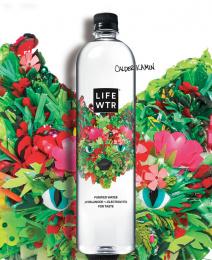LIFEWTR: LIFEWTR Series 9 Art of Recycling, 1 Print Ad by PepsiCo Design & Innovation