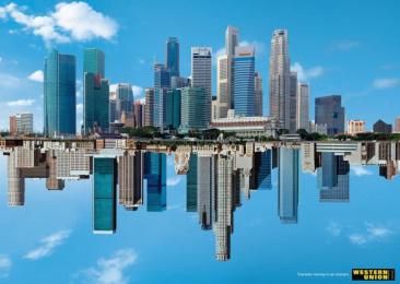 Western Union: SINGAPORE - LA Print Ad by Saatchi & Saatchi Vietnam