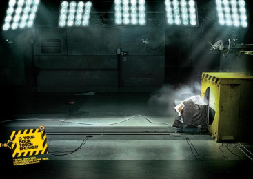 Young Lions Brazil: Crash Test Print Ad by Fischer+Fala!