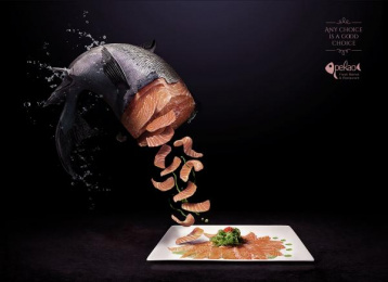 Pekao Fresh Market & Restaurant: Fresh Choice, 1 Print Ad by Cazar DDB Dominican Republic