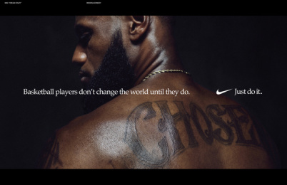 Nike: Nike Just Do It 'Dream Crazy', 12 Print Ad by Wieden + Kennedy Portland