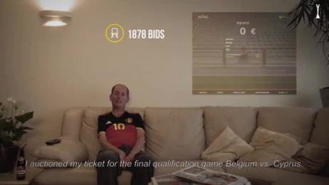 ALS League: Swap My Seat For Als Film by Publicis Brussels