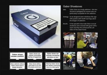 Gabor: GABOR ADDICTIONBOX Print Ad by Serviceplan Munich
