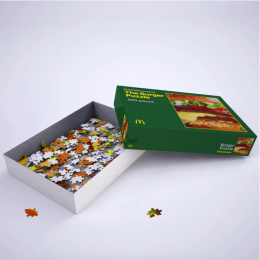 McDonald's: The Burger Puzzle, 2 Direct marketing by TBWA, Belgium