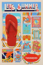 Havaianas: Let's Summer News, 8 Print Ad by ALMAP BBDO Brazil