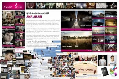 Qtel: Ana Arabi Digital Advert by Leo Burnett Doha