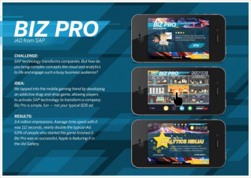 Sap Technology Systems: RUN BETTER BIZ PRO IAD Promo / PR Ad by Ogilvy & Mather New York