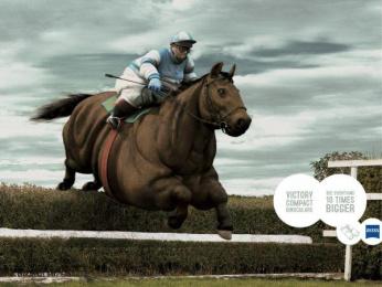Zeiss: JOCKEY Outdoor Advert by TBWA Paris