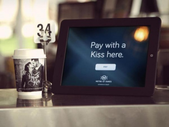 Metro St James: Pay with a kiss Digital Advert by Lavender*