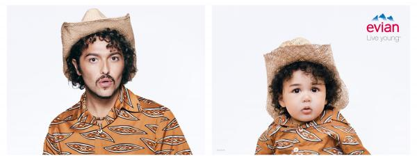Evian: Baby Bay, Matteo Print Ad by BETC, Rita