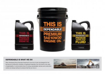Rocky Mountain Equipment: DEPENDABLE Design & Branding by Taxi Canada