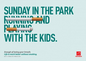 Portonave: Sunday in the Park With the Kids Print Ad by D/Araujo