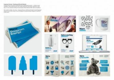 Gazprom Energy: Gazprom Energy Identity Case study by Mark.