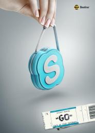 Beeline: Go, 2 Print Ad by RED Almaty