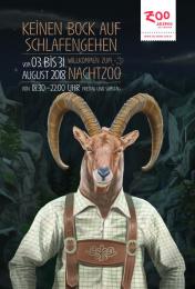 Salzburg Zoo: Capricorn Print Ad by dunkelblaufastschwarz Salzburg