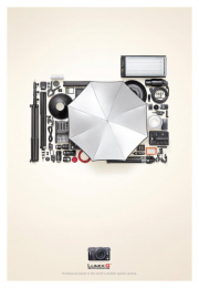 Lumix G: Compact Print Ad by Publicis Mojo Auckland
